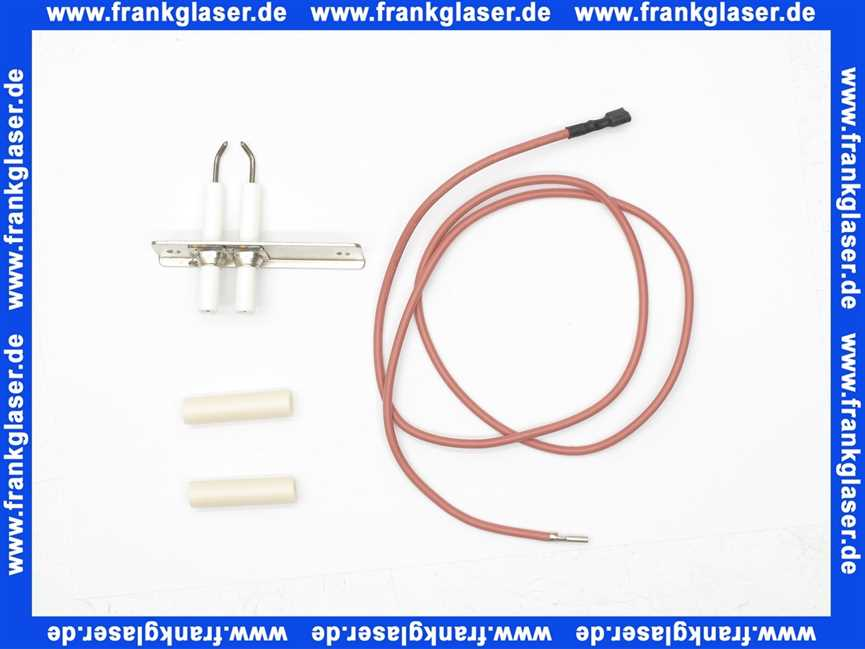 Elektrode 090671 Zündung Vaillant Nr.