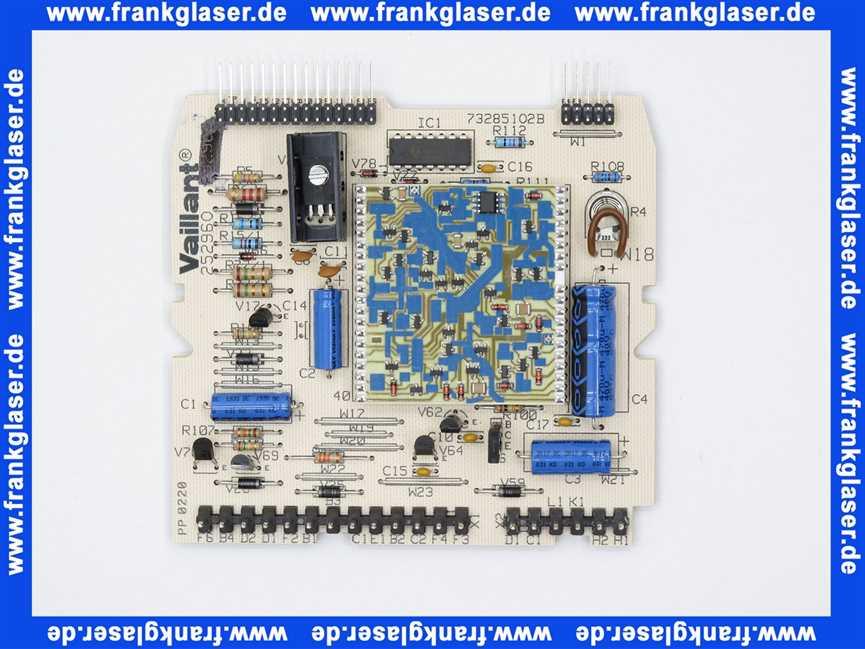 VAILLANT LEITERPLATTE ELEKTRONISCHER REGLER VC//VCW 110 112 180 240 280 252947