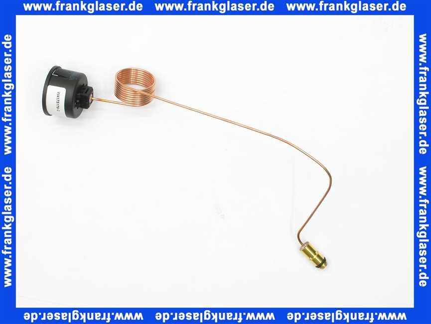 7822739 Viessmann Manometer mit Kapillar 0-4 bar