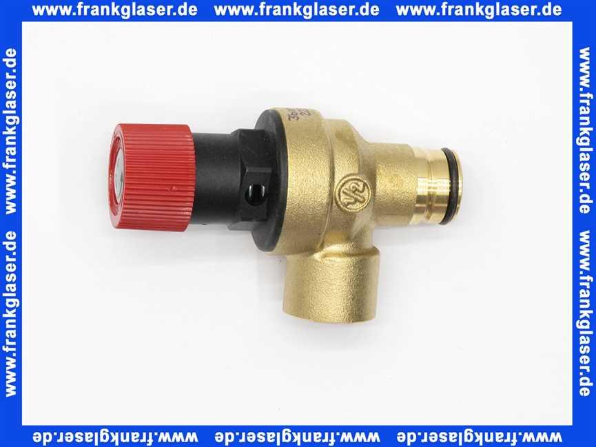 Extrem 48121140027 Weishaupt Sicherheitsventil 1/2 3 bar mit O-Ring GJ05