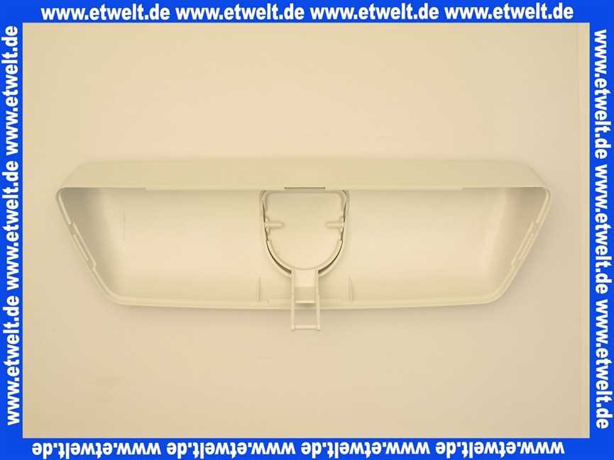 8050410801 wisa deckel f r sp lkasten mit bedientaste. Black Bedroom Furniture Sets. Home Design Ideas