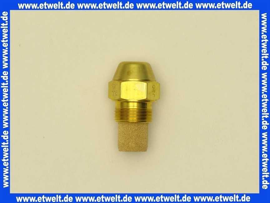 2414286 Wolf Düse 0,45/80Gr S f. Stahlkessel 20kW 4045013018006